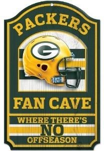 Jerseys NFL Online - REAL WOOD Green Bay Packers Vintage Art Print on Wood 14x20 ...