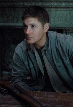 Dean Winchester, in a crypt, with a gun. <3 #Supernatural #JensenAckles