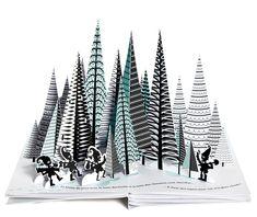 Les Grandes Personnes | Lutins des Bois Philippe UG Novembre 2015 Pop Up Art, 3d Paper, Paper Crafts, Libros Pop-up, Paper Engineering, Book Sculpture, Up Book, Paper Artwork, Book Design