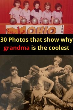 It's easy to forget that our grandmas were young once. But just because they don't know who Drake is or can't figure out how to use Instagram, doesn't mean they weren't cool in their time!