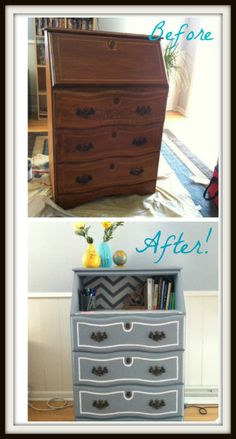 Dresser before and after!