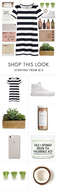 """""""NEW ACCOUNT ?! (rtd)"""" by solastamel ❤ liked on Polyvore featuring Vans, Polaroid, Threshold, CB2, Youth To The People and NDI"""