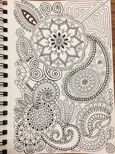 Zentangle inspired