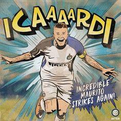 It's about football and comics players and heroes! Storie di calcio e fumetti giocatori ed eroi! @mauroicardi #Comics #ComicArt #ComicsAddict #MI9 #InterIsComing #ForzaInter #Inter #FCIM #FCInternazionale #InterClubPavia #Nerazzurri #DnaNerazzurro Vuoi diventare socio #InterClub ? --> http://ift.tt/2jhZpsl