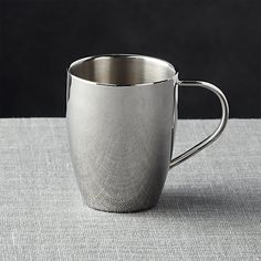 Our attractive stainless steel mug is double-walled to keep hot drinks hot and cold beverages cold.