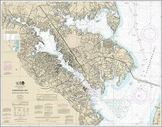 Severn and Magothy Rivers Chesapeake Bay Nautical Chart printed on canvas for home décor wall art print. Unique Textile Printing http://www.amazon.com/dp/B00R3I9KX0/ref=cm_sw_r_pi_dp_LR0.ub07NY9QF