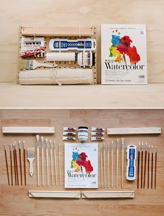 DIY Painter's Tool Set for Kids from DIY.org