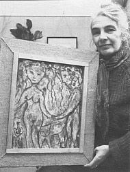 My aunt, Lucy Boyd-Beck, was an artist and a ceramicist. When I was a little girl, and complained that I couldn't draw, she sat me down and gave me a lesson in how to draw ponies.