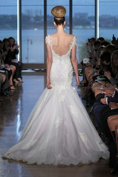 Ines Di Santo Fall 2014. 35 Best Statement Back Wedding Gowns of 2014 | OneWed