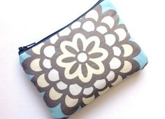 Zip Pouch Purse Cell Gadget Case Padded  by toteallaccessories, $8.00