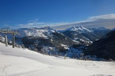 Upper part of the Burz Agonistica ski slope, Dolomiti Superski.