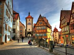 Rothenburg is one of the truly hidden tourist gems in Germany and probably the most well preserved medieval town in the world | 10 Hidden Tourist Gems In Germany You Didn't Know About