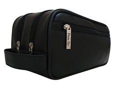 Mens Toiletry Bag - New Luxury Toiletry Bag for Men by Pure Sir - 30 Day Guarantee Pure Sir http://www.amazon.com/dp/B00OBTOG42/ref=cm_sw_r_pi_dp_MeMIub0Q43K11