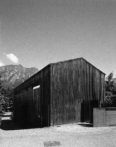 Peter Zumthor's Studio, Haldenstien, Switzerland. 1986