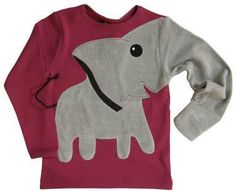 Elephant sweatshirt Don't think I would ever actually wear this, but I love elephants!!! :)