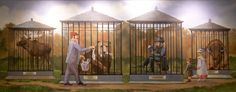 Parks & recreation - pawnee murals