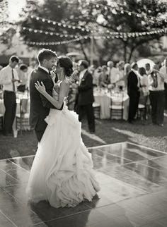 first dance / wedding photo