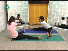 Pawanmuktasana series III or PM 3 is the series of 9 yoga poses namely,Pulling the Rope (Rajju Karshanasana), Dynamic Spinal Twist (Gatyatma...