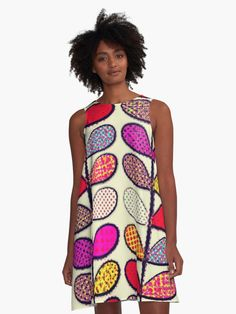 """Pattern"" A-Line Dress by bubbliciousart 