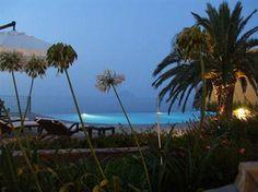 That's my lounger. Hotel Ravesi, Malfa, Salina