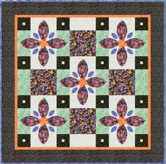 Pansy Passion Quilt