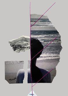 """""""Vuelve"""". Collage hecho a mano de la serie """"El territorio inventado"""". Proyecto inspirado en fotolibros, en este caso, a partir de Ouroboro, donde reinterpreto su significado recortando las imágenes del propio libro, en búsqueda de un nuevo territorio. www.nataliaromay.com/#/el-territorio-inventado/ https://www.facebook.com/ouroborocodice/"""
