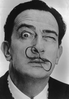 Philippe Halsman ÊSpanish painter Salvador DALI.