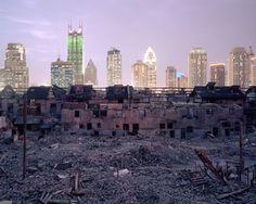 Les contrastes urbains à Shanghai