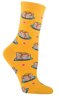 Pancake Socks from The Sock Drawer