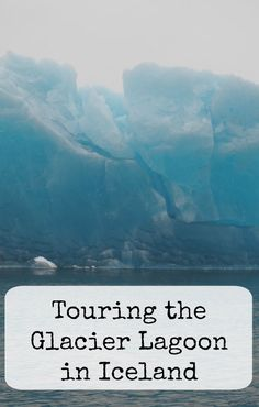 Touring the Jokulsarlon Glacier Lagoon in Iceland -- getting up close with icebergs - family travel to Iceland