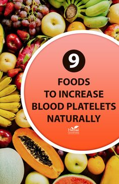 Looking for ways to increase blood platelets naturally? Then it's time to embrace a natural food diet that will boost your platelet count without any side effects whatsoever.