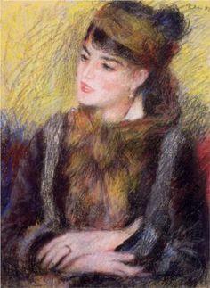 Study of a Woman - Pierre-Auguste Renoir
