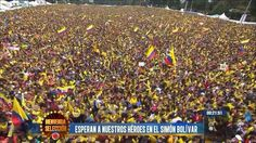 CRAZY! #Col welcomed home like the heroes that they are! pic.twitter.com/6XWfwmoAsi
