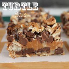 Magic Turtle Bars Recipe - Chocolate, Chocolate and more & ZipList