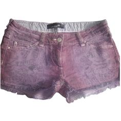 Hudson Jeans Denim Shorts (£26) ❤ liked on Polyvore featuring ...