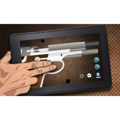 Virtual Guns Mobile Weapon Kindle Fire Edition Android Application.    http://www.amazon.com/Virtual-Mobile-Weapon-Kindle-Edition/dp/B0083KD57E/ref=sr_1_1?s=mobile-apps=UTF8=1338315545=1-1#