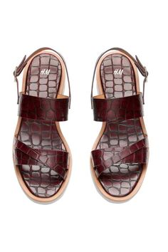 Босоножки на каблуке | H&M