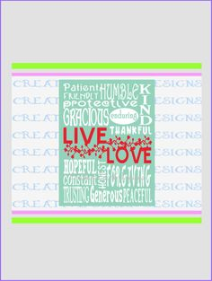 Live Love Sentiment Wall Art DIY Project by CreativeSparkDesigns