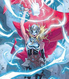 La identidad del nuevo Thor, la diosa del trueno