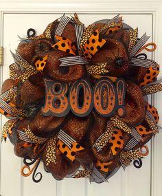 Halloween Wreath Mesh Halloween Wreath Classy Halloween