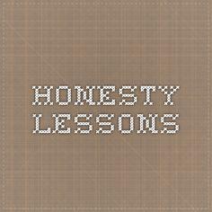 Youth education: Honesty