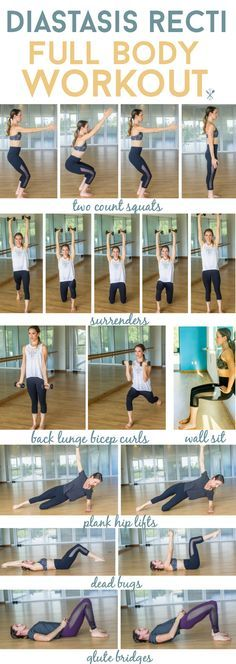 This diastasis recti friendly workout is a great full-body workout for new or experienced moms that have DR or the dreaded mommy pooch after baby. Moves to engage your entire body, including core-safe movements. With featured workout threads from Glyder Apparel #ad