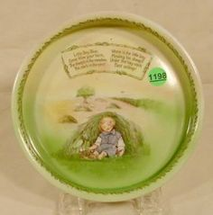 Signed Royal Bayreuth Nursery Rhyme Dish NR