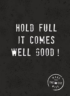 Hold full, it comes well good! #Hallmark #HallmarkNL #makethathecatwise #wenskaart
