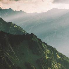 Awesome light in the Allgäu Alps.