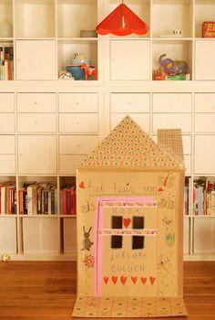 DIY cardboard home