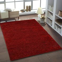 Zipcode Design Bombay Red Area Rug Rug Size: x Green Carpet, Beige Carpet, Diy Carpet, Bedroom Carpet, Living Room Carpet, Rugs In Living Room, Red Rugs, Blue Area Rugs, Rug Size