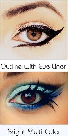 #eyeliner #eyes #makeup #beauty #beautiful #glowing #smokey
