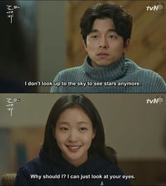 Goblin Kdrama Korea - He looks so disturbed lol W Korean Drama, Goblin Korean Drama, Korean Drama Quotes, Lee Dong Wook, Drama Film, Drama Series, Tv Series, Goblin The Lonely And Great God, Goblin Gong Yoo