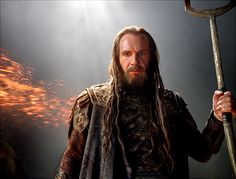 Wrath of the Titans - Hades played by Ralph Fiennes.